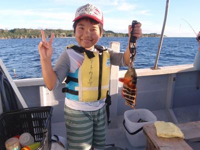 沖縄釣り体験
