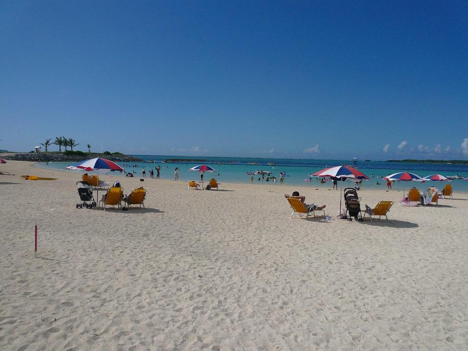 ファミリーにおすすめのビーチ!