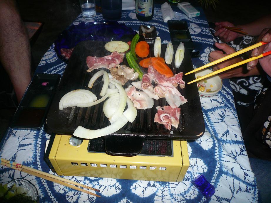 やんばる島豚アグー陶板焼き