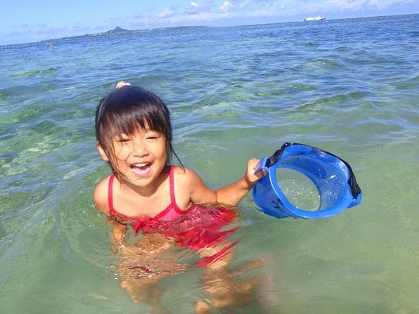 箱メガネで海の中をのぞいてみよう!